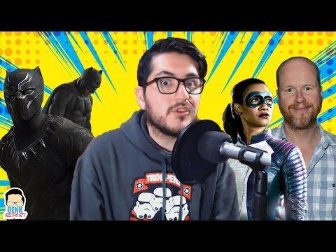 Joss Whedon sale del DCEU - Black Panther aplasta Justice League en 4 días - Iris West | QR