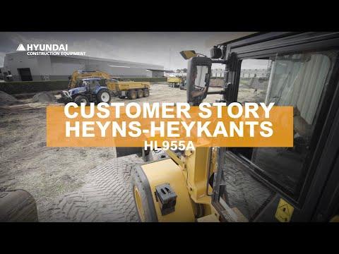 Video Kolové kloubové nakladače Hyundai HL955A