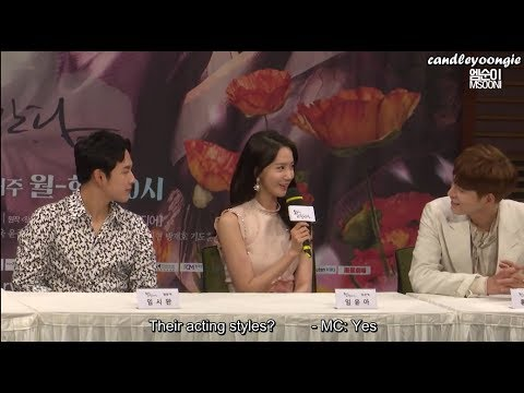 """[ENG SUB] Yoona compares Siwan and Jonghyun @""""The King In Love"""" Press Conference"""