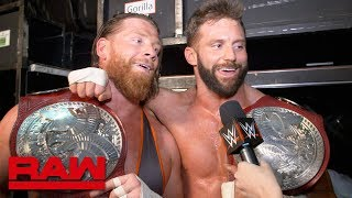 Zack Ryder & Curt Hawkins ended a streak and a curse: Raw Exclusive, April 8, 2019