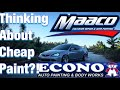 Watch This BEFORE MACCO paint or ECONO!