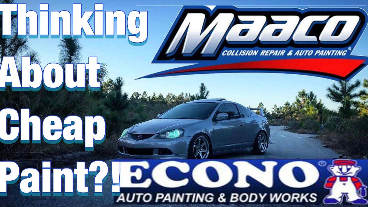 Watch This Before Macco Paint Or Econo Youtube