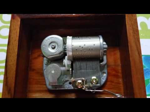 Canon In D 23 Note Music Box