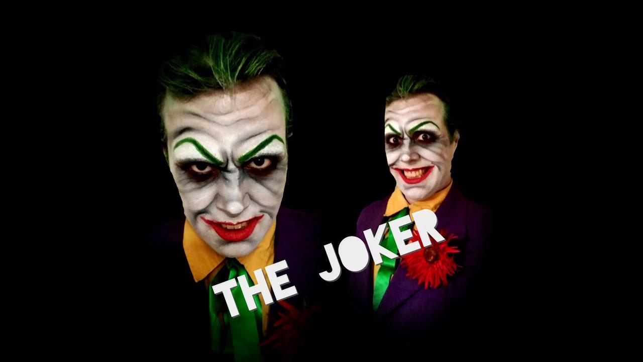 THE JOKER! - Comic Book Villain (Batman) - Halloween Makeup ...