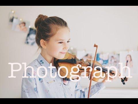 Photograph - Ed Sheeran - Violin Cover - Karolina Protsenko