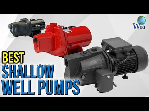 6 Best Shallow Well Pumps 2017