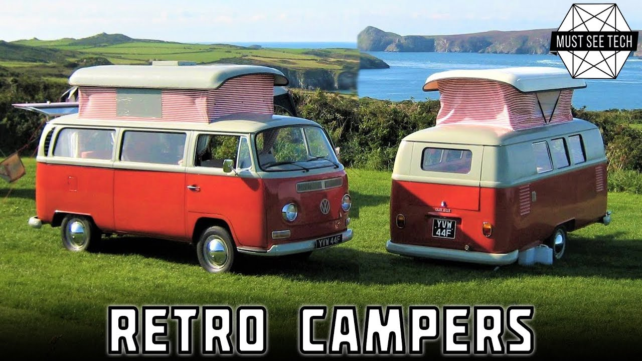b85a6f1bfc 7 Retro Camper Vans and Caravan Trailers with Amazing Classic ...