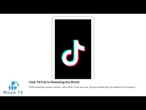 How TikTok Is Rewriting the World Mp3