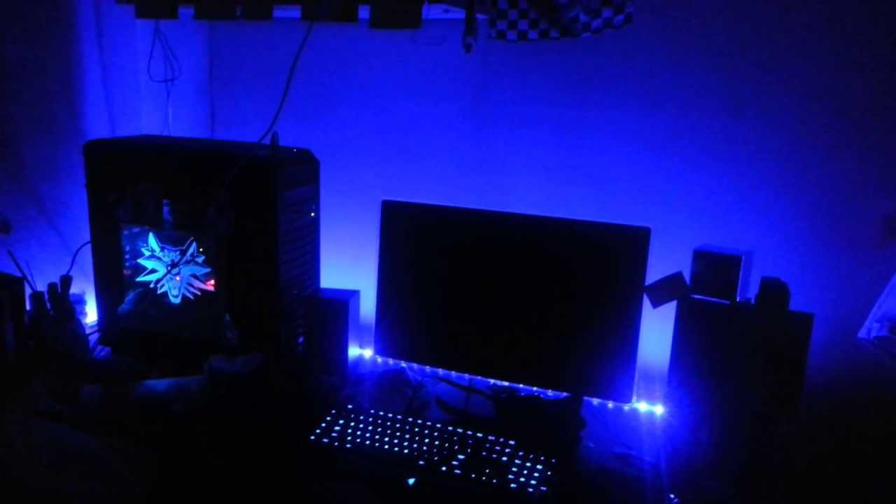 Iluminaci 243 N Led Para Jugar A La Pc Youtube
