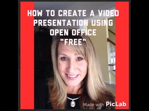 46 how to use open office impress for video presentation youtube.