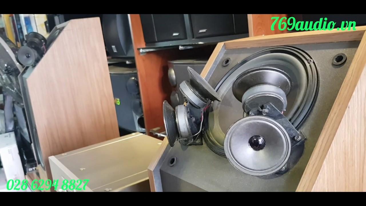 Bộ dàn âm thanh nghe nhạc, loa Bose 601 seri 3 ampli.Denon S10II, CD Denon  S10 III Limited bãi Nhật