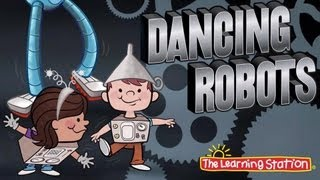 Brain Breaks - Dance Song - Dancing Robots - Children