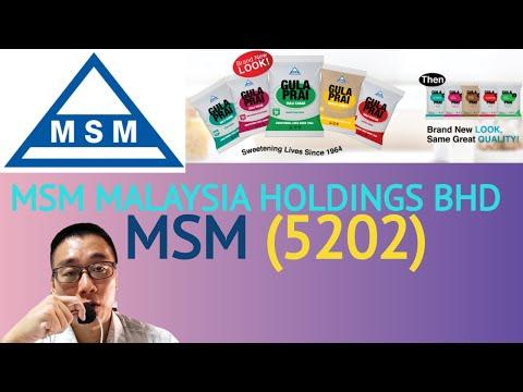 浅谈MSM MALAYSIA HOLDINGS BHD, MSM, 5202 - James的股票投资James Share Investing