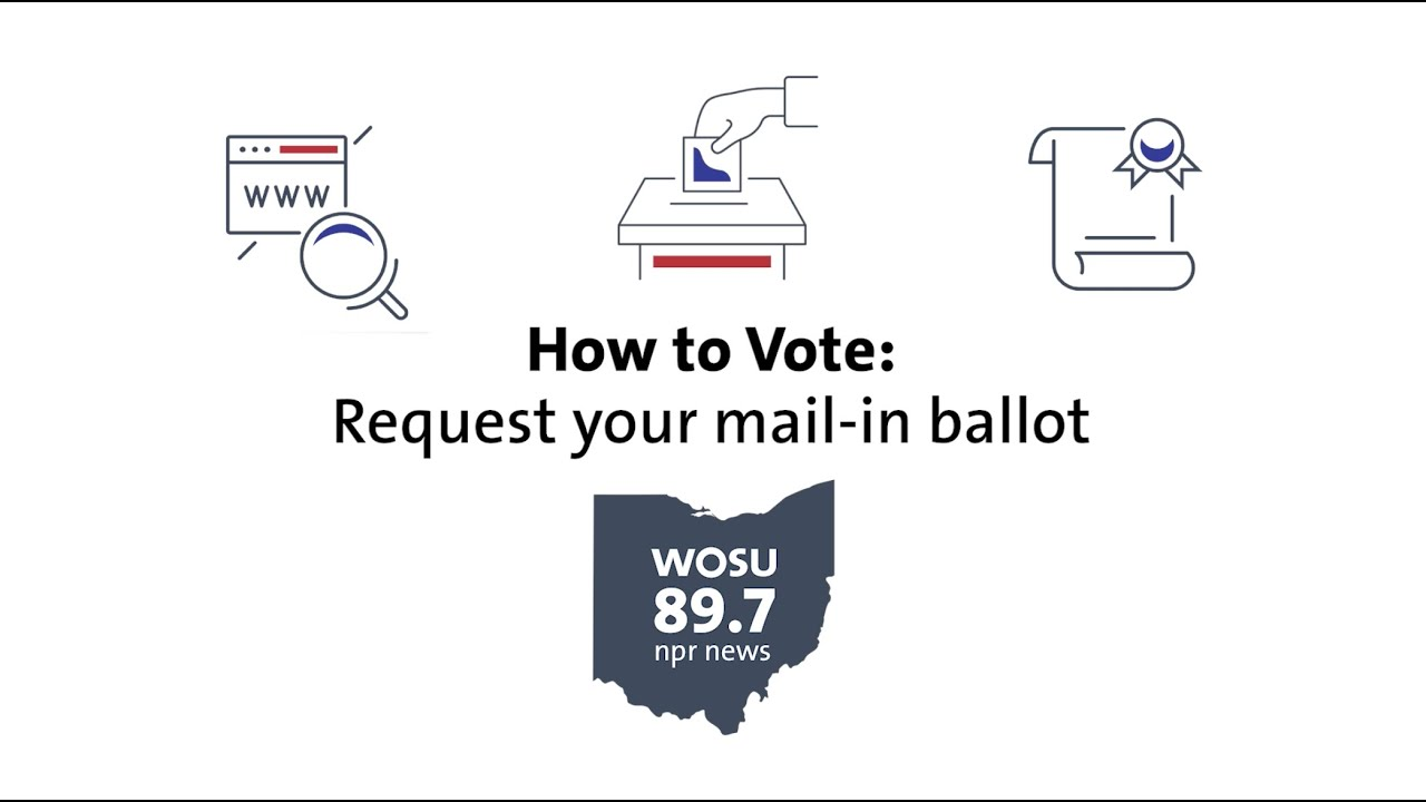 How To Request An Absentee Ballot Ohio How To Vote Guide Youtube