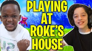 *WATCH* what we did at ROKE's House - INSANE GAMING