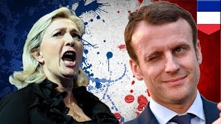 French election 2017: Emmanuel Macron destroys Marine Le Pen to become youngest president ever