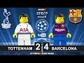 Download Tottenham Vs Barcelona 2-4 • Champions League 2019