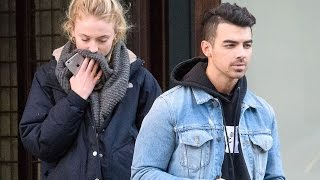 Joe Jonas and Sophie Turner Step Out Together in New York City