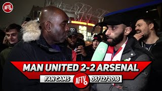 Man United 2-2 Arsenal | United Are A Poor Imitation Of Stoke & An Ex Great Club! (Moh)