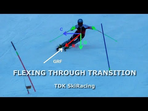 Secret Move In Ski Racing FLEXING THROUGH TRANSITION