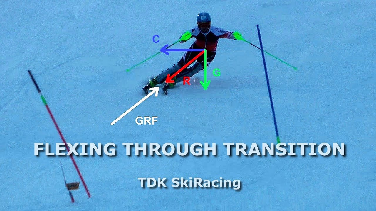 Secret Move in Ski Racing FLEXING THROUGH TRANSITION