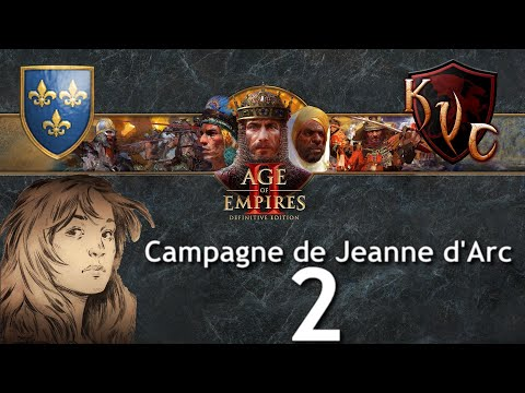 [FR]  Age Of Empires 2 Definitive Edition - Campagne De Jeanne D'Arc #2