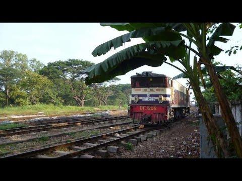 Schienenabenteuer Myanmar Teil 2