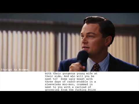The Wolf of Wall Street - Script to Screen