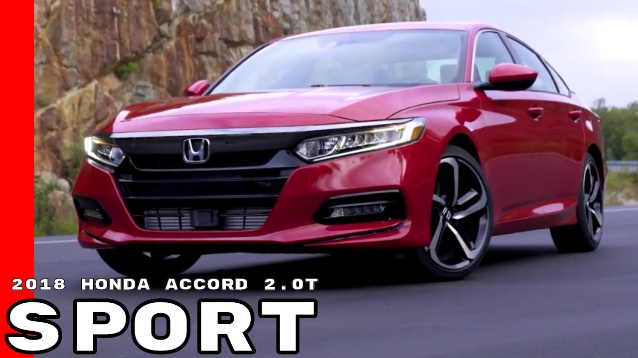 2018 Honda Accord 2 0t Sport