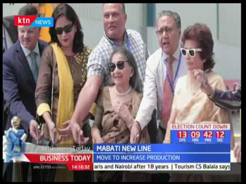 Mabati Rolling Mills launches new line in Mariakani