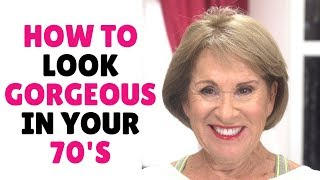 HOW TO LOOK GORGEOUS IN YOUR 70'S | #FIERCEAGING | Nikol Johnson