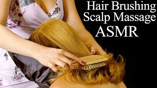 Stunningly Gorgeous Hair Brushing with Scalp Scratching and Hair Sounds ASMR
