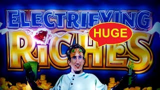 Electrifying Riches Slot - BIG WIN - AWESOME SESSION, YES!!!