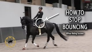 How to Stop Bouncing when you ride? (Dressage Mastery TV Ep238)