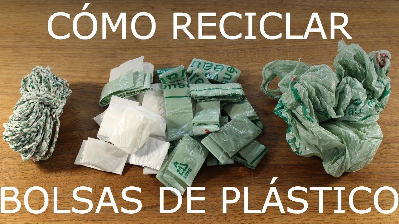 Reciclar Bolsas De Súper Plástico Reciclaje Del mwy8n0vNOP