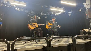 Kazuya Miwa acoustic live @ FLOWERS LOFT with Akito Matsumoto from Shinku-Horou