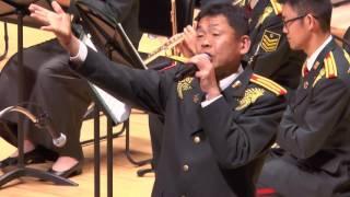 陸上自衛隊第1音楽隊 ニューイヤーコンサート in 川越 先任上級曹長の歌...