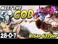 MEET CHO'GOD 🔥 6375HP + 815AP = BEST CHO'GATH SEASON 9 BUILD 🔥 Cho'Gath Season 9 League Of Legends