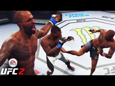 Jimi Manuwa Is The BIGGEST Sleeper In The LHW Division - EA Sports UFC 2 Ranked Gameplay