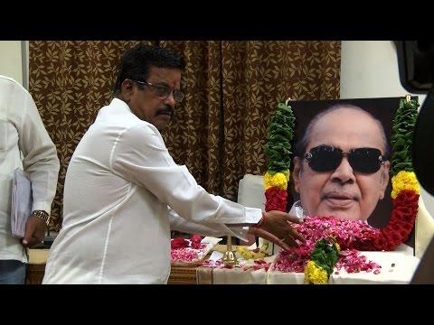 Tamil Cinema producers pay homage to Telugu Filmmaker Ramanaidu