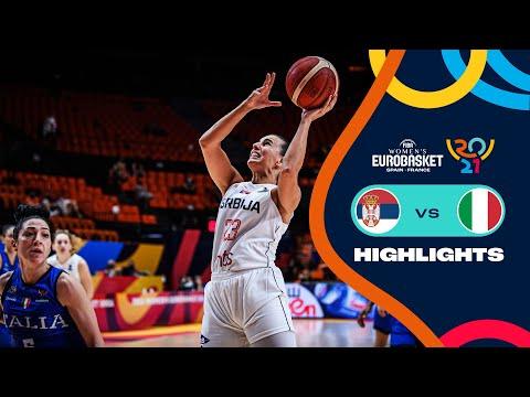 Serbia - Italy | Highlights - FIBA Women's EuroBasket 2021