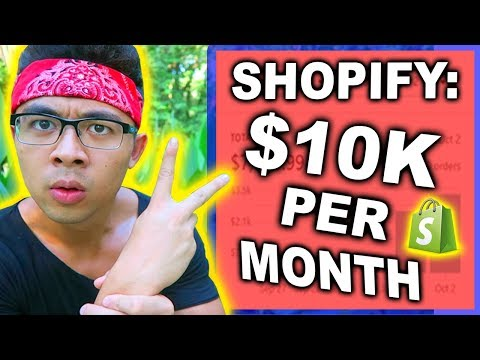 How to Make $10k+ PER MONTH on Shopify WITHOUT THE GUESSWORK