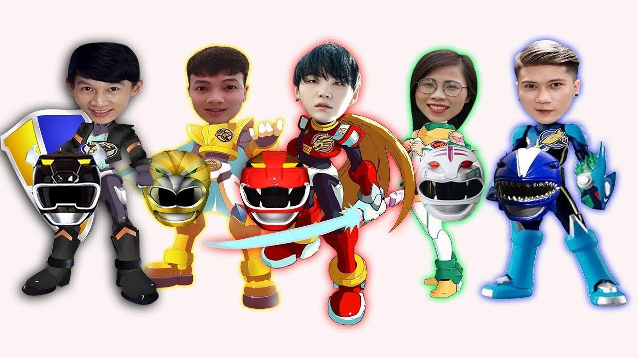 SIÊU NHÂN GAO SIÊU CẤP – 5 anh em siêu nhân ( SUPER GAO – 5 superheroes) – Đoàn Vlog