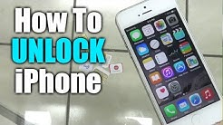 How To Unlock Iphone 5S from Sprint, AT&T, or any other GSM Carrier / iOS 8 or iOS 9