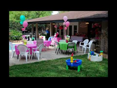 Backyard Birthday Party Ideas