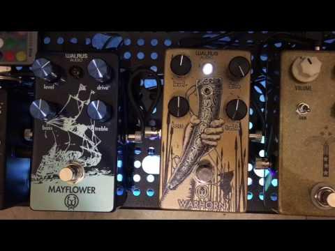 Walrus Audio Mayflower vs Warhorn