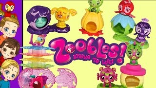 RARE Zoobles Collection Find At A Garage Sale