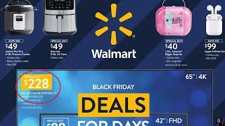 Looking Through Walmart's 2020 Bląck Friday Catalog!