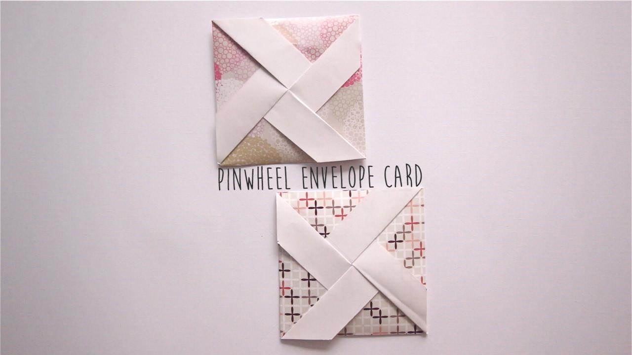 How To Make Pinwheel Envelope