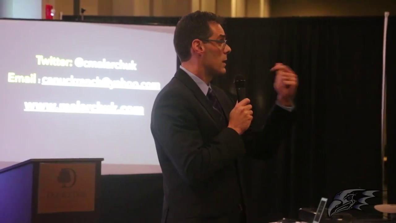 Clint Malarchuk Speaks At Niagara Hockey Face Off Event Youtube